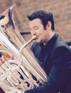 Les Neish tuba soloist