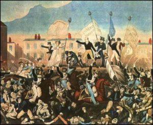 Peterloo Massacre by Richard Carlile
